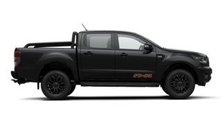2020 Ford Ranger PX MkIII 2020.25MY FX4 Pick-up Double Cab Shadow Black 6 Speed Sports Automatic.