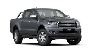 2020 Ford Ranger PX MkIII 2020.25MY XLT Pick-up Double Cab Meteor Grey 10 Speed Sports Automatic.