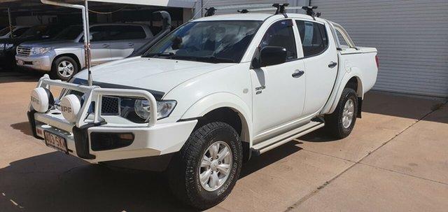 Used Mitsubishi Triton MN MY12 GL-R (4x4), 2012 Mitsubishi Triton MN MY12 GL-R (4x4) White 5 Speed Manual Double Cab Utility
