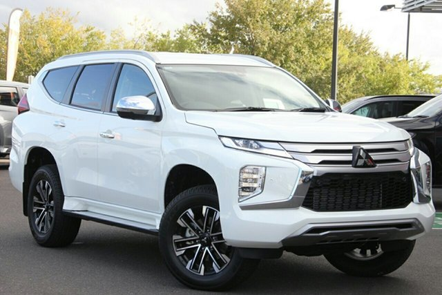 New Mitsubishi Pajero Sport QF MY20 Exceed, 2020 Mitsubishi Pajero Sport QF MY20 Exceed White 8 Speed Sports Automatic Wagon