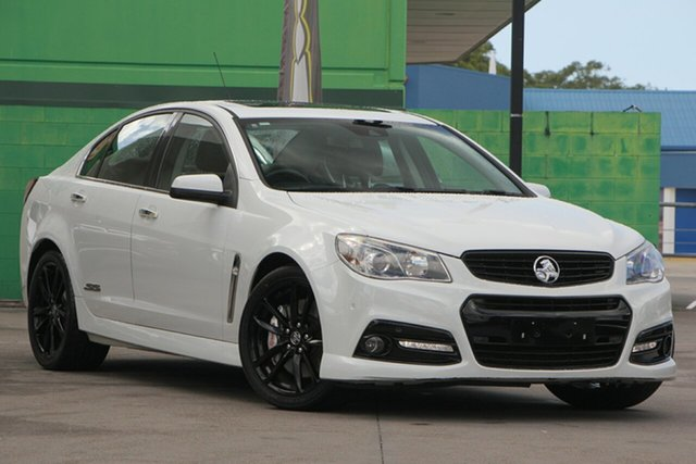 Used Holden Commodore VF MY14 SS V, 2014 Holden Commodore VF MY14 SS V White 6 Speed Sports Automatic Sedan