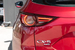 2020 Mazda CX-5 KF4WLA Akera SKYACTIV-Drive i-ACTIV AWD Soul Red Crystal 6 Speed Sports Automatic