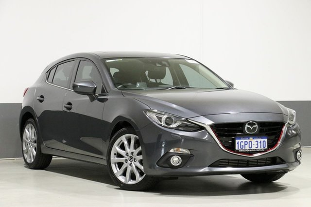 Used Mazda 3 BM MY15 XD Astina, 2016 Mazda 3 BM MY15 XD Astina Grey 6 Speed Automatic Hatchback