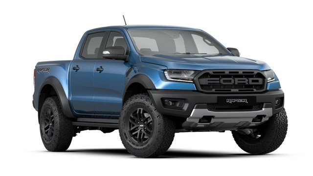 New Ford Ranger PX MkIII 2020.25MY Raptor Pick-up Double Cab, 2020 Ford Ranger PX MkIII 2020.25MY Raptor Pick-up Double Cab Performance Blue 10 Speed