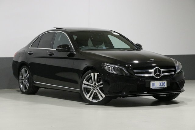 Used Mercedes-Benz C300 205 MY19 , 2019 Mercedes-Benz C300 205 MY19 Black 9 Speed Automatic G-Tronic Sedan