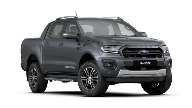 New Ford Ranger PX MkIII 2020.25MY Wildtrak Pick-up Double Cab, 2019 Ford Ranger PX MkIII 2020.25MY Wildtrak Pick-up Double Cab Meteor Grey 6 Speed Sports Automatic