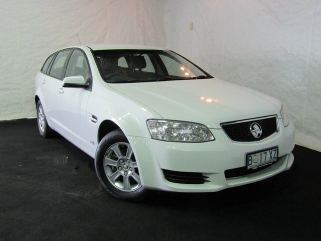 Used Holden Commodore VE II Omega Sportwagon, 2011 Holden Commodore VE II Omega Sportwagon Heron White 6 Speed Sports Automatic Wagon