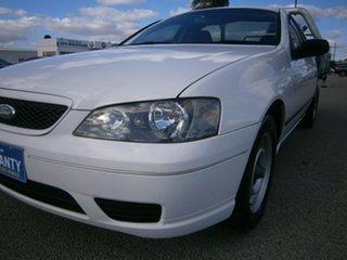 2006 Ford Falcon BF Mk II XL Ute Super Cab White 4 Speed Automatic Utility