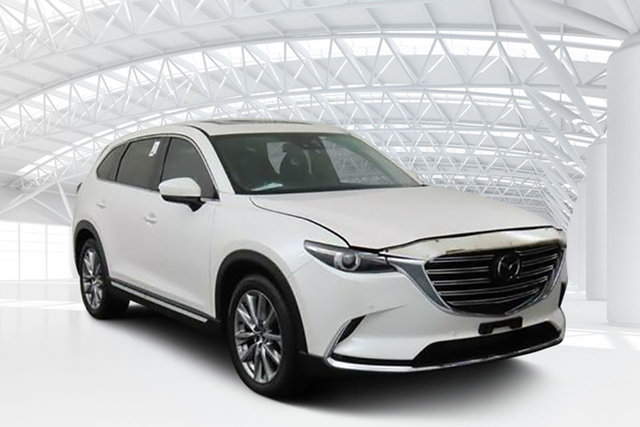 Used Mazda CX-9 MY18 Azami (AWD), 2017 Mazda CX-9 MY18 Azami (AWD) White 6 Speed Automatic Wagon
