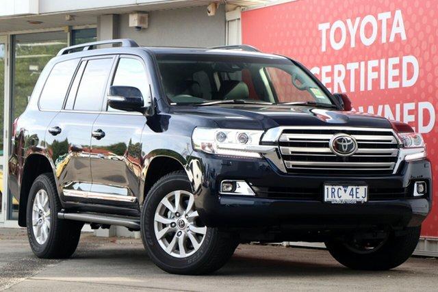 Used Toyota Landcruiser VDJ200R Sahara, 2019 Toyota Landcruiser VDJ200R Sahara Onyx Blue 6 Speed Sports Automatic Wagon