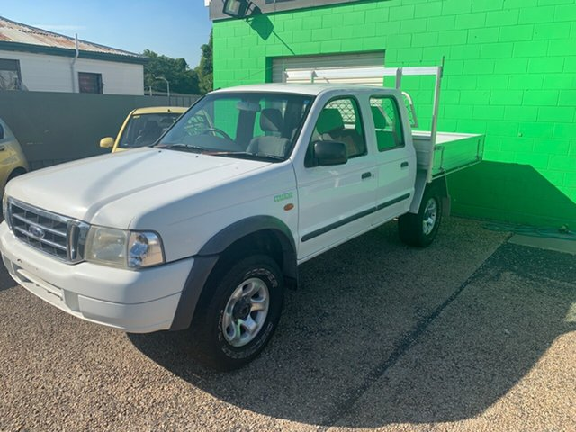 Used Ford Courier  , 2003 Ford Courier 4X4 White Manual Dual Cab