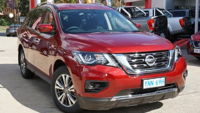 New Nissan Pathfinder R52 Series III MY19 ST+ X-tronic 2WD, 2019 Nissan Pathfinder R52 Series III MY19 ST+ X-tronic 2WD Cayenne Red 1 Speed Constant Variable