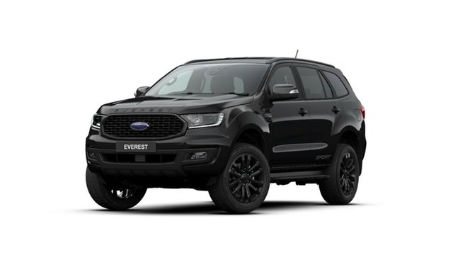 New Ford Everest UA II 2020.25MY Sport 4WD, 2020 Ford Everest UA II 2020.25MY Sport 4WD Shadow Black 10 Speed Sports Automatic Wagon