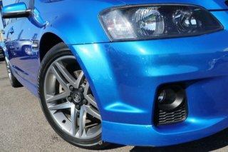 2011 Holden Commodore VE II SV6 Blue 6 Speed Manual Sedan.