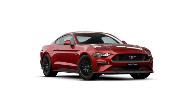 New Ford Mustang FN 2020MY GT Fastback SelectShift RWD, 2020 Ford Mustang FN 2020MY GT Fastback SelectShift RWD Rapid Red 10 Speed Sports Automatic Fastback