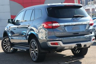 2019 Ford Everest UA II 2019.00MY Titanium 4WD Blue 10 Speed Sports Automatic Wagon.