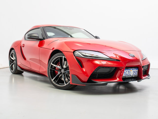 Used Toyota Supra GR DB42R GTS, 2019 Toyota Supra GR DB42R GTS Red 8 Speed Automatic Coupe
