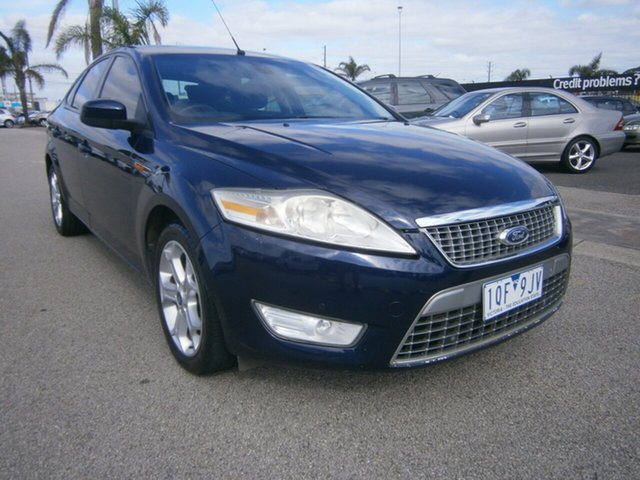 Used Ford Mondeo MA TDCi, 2008 Ford Mondeo MA TDCi Blue 6 Speed Sports Automatic Hatchback