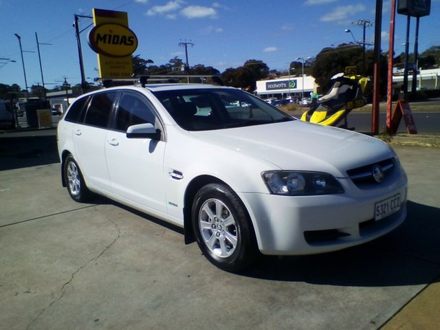 Used Holden Commodore VE MY10 Omega Sportwagon, 2010 Holden Commodore VE MY10 Omega Sportwagon White 6 Speed Sports Automatic Wagon