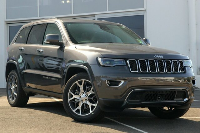 Used Jeep Grand Cherokee WK MY19 Limited (4x4), 2019 Jeep Grand Cherokee WK MY19 Limited (4x4) Granite Crystal 8 Speed Automatic Wagon