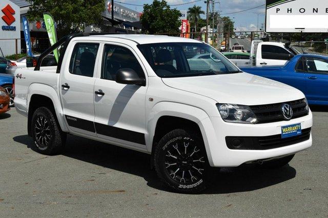 Used Volkswagen Amarok 2H MY15 TDI400 Core Edition (4x4), 2015 Volkswagen Amarok 2H MY15 TDI400 Core Edition (4x4) White 6 Speed Manual Dual Cab Utility