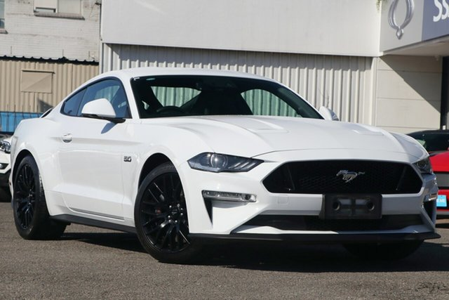 Used Ford Mustang FN 2018MY GT Fastback, 2018 Ford Mustang FN 2018MY GT Fastback White 6 Speed Manual Fastback