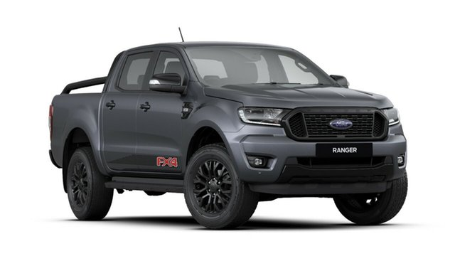 New Ford Ranger PX MkIII 2020.25MY FX4 Pick-up Double Cab, 2020 Ford Ranger PX MkIII 2020.25MY FX4 Pick-up Double Cab Meteor Grey 6 Speed Sports Automatic