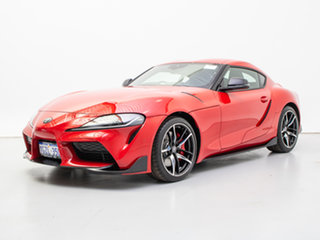 2019 Toyota Supra GR DB42R GTS Red 8 Speed Automatic Coupe.