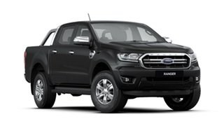 2020 Ford Ranger PX MkIII 2020.25MY XLT Pick-up Double Cab Shadow Black 6 Speed Sports Automatic.