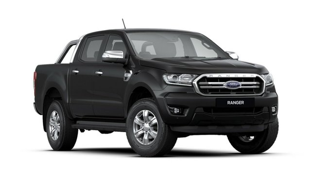 New Ford Ranger PX MkIII 2020.25MY XLT Pick-up Double Cab, 2020 Ford Ranger PX MkIII 2020.25MY XLT Pick-up Double Cab Shadow Black 6 Speed Sports Automatic