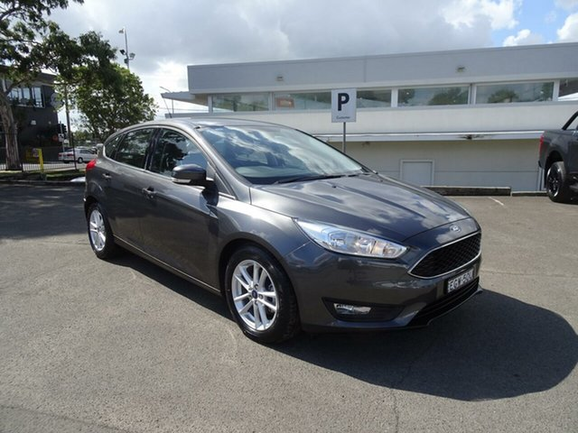 Used Ford Focus LZ Trend, 2016 Ford Focus LZ Trend Magnetic 6 Speed Automatic Hatchback