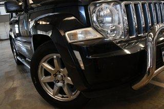 2010 Jeep Cherokee KK Limited (4x4) Black 4 Speed Automatic Wagon.