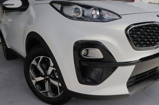 2020 Kia Sportage QL MY21 S 2WD Clear White 6 Speed Sports Automatic Wagon