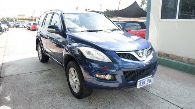 Used Great Wall X240 CC6461KY MY12 , 2012 Great Wall X240 CC6461KY MY12 Blue 5 Speed Manual Wagon