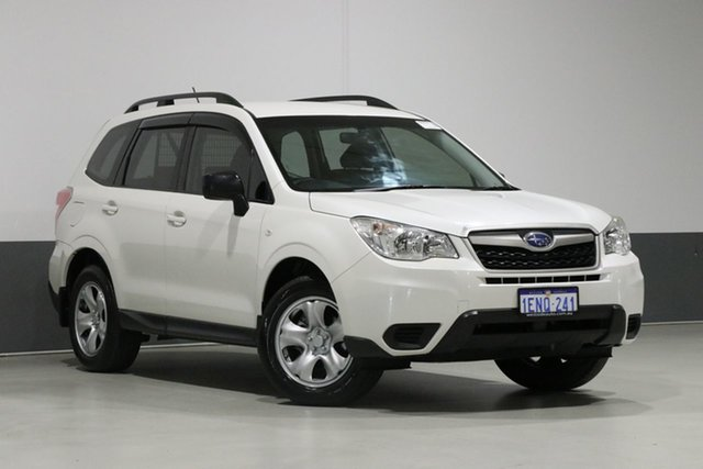 Used Subaru Forester MY14 2.5I, 2014 Subaru Forester MY14 2.5I Pearl White Continuous Variable Wagon