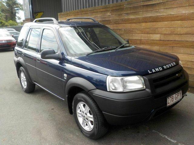 Used Land Rover Freelander 02MY SE Td4, 2002 Land Rover Freelander 02MY SE Td4 Blue 5 Speed Sports Automatic Wagon