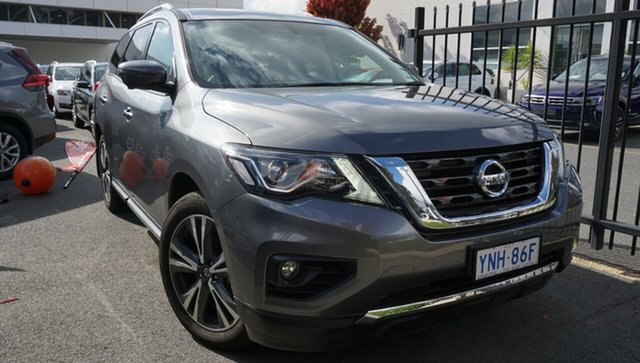 Demo Nissan Pathfinder R52 Series III MY19 Ti X-tronic 2WD, 2019 Nissan Pathfinder R52 Series III MY19 Ti X-tronic 2WD Gun Metallic 1 Speed Constant Variable