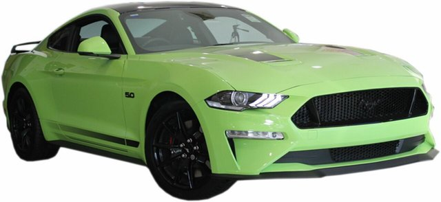 New Ford Mustang FN 2020MY GT Fastback SelectShift RWD, 2020 Ford Mustang FN 2020MY GT Fastback SelectShift RWD Grabber Lime 10 Speed Sports Automatic