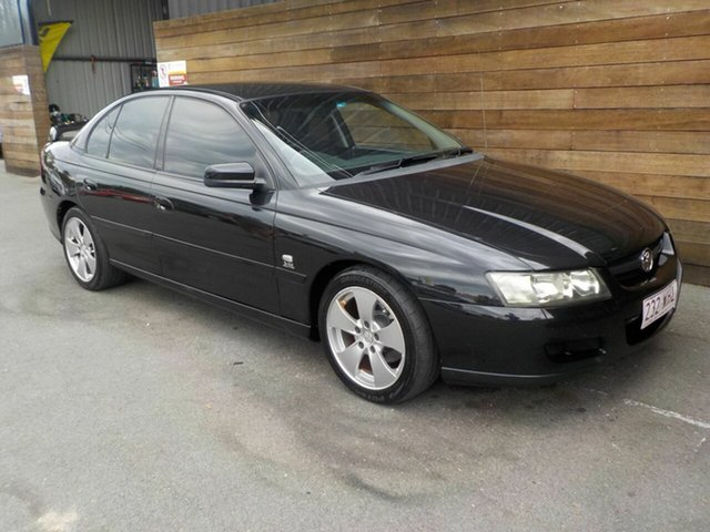 Used Holden Commodore VZ Lumina, 2005 Holden Commodore VZ Lumina Black 4 Speed Automatic Sedan