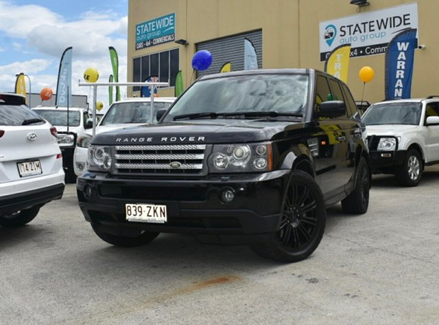 Used Land Rover Range Rover MY08 Sport 3.6 TDV8, 2008 Land Rover Range Rover MY08 Sport 3.6 TDV8 Black 6 Speed Auto Sequential Wagon