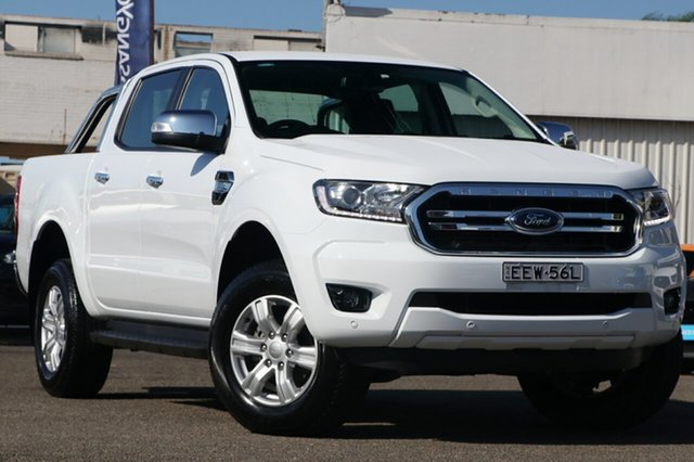 Used Ford Ranger PX MkIII 2019.00MY XLT Pick-up Double Cab 4x2 Hi-Rider, 2018 Ford Ranger PX MkIII 2019.00MY XLT Pick-up Double Cab 4x2 Hi-Rider White 6 Speed