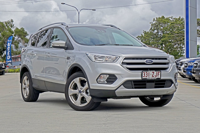 Used Ford Escape ZG 2019.75MY Trend 2WD, 2019 Ford Escape ZG 2019.75MY Trend 2WD Silver 6 Speed Sports Automatic Wagon