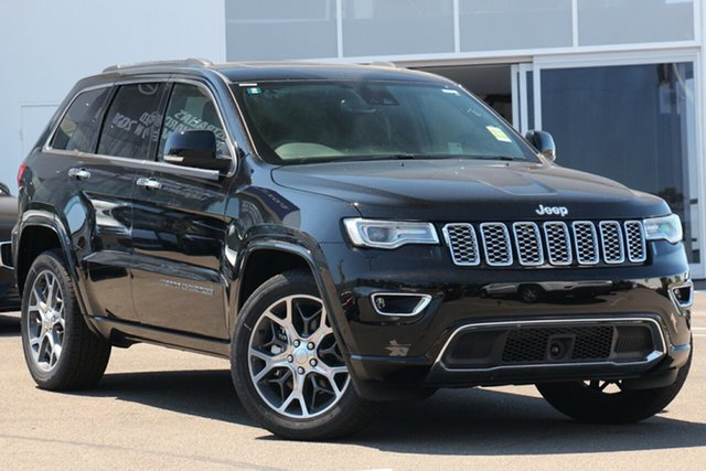 Used Jeep Grand Cherokee WK MY19 Overland, 2019 Jeep Grand Cherokee WK MY19 Overland Diamond Black Crystal 8 Speed Sports Automatic Wagon