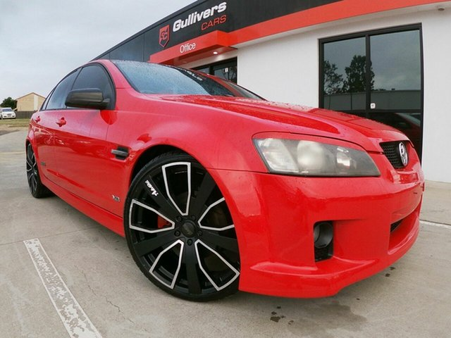 Used Holden Commodore VE SS, 2007 Holden Commodore VE SS Red 6 Speed Manual Sedan