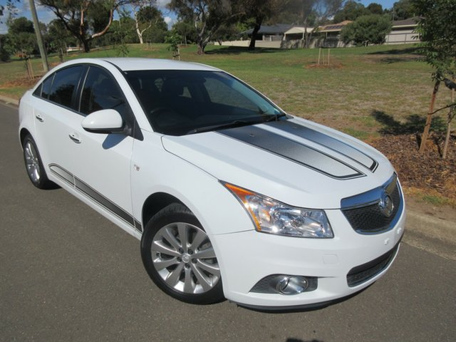 Used Holden Cruze JH Series II MY14 Z Series, 2014 Holden Cruze JH Series II MY14 Z Series White 5 Speed Manual Sedan