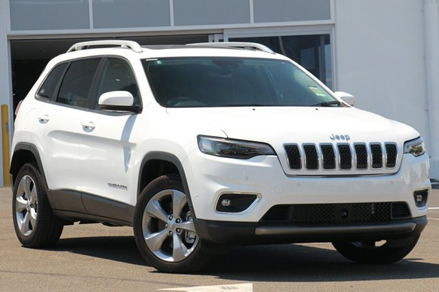 Used Jeep Cherokee KL MY19 Limited, 2019 Jeep Cherokee KL MY19 Limited Bright White 9 Speed Sports Automatic Wagon