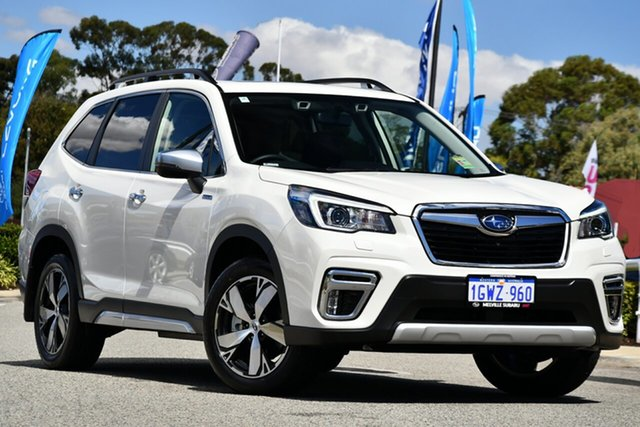 Demo Subaru Forester S5 MY20 Hybrid S CVT AWD, 2019 Subaru Forester S5 MY20 Hybrid S CVT AWD Crystal White 7 Speed Constant Variable Wagon Hybrid