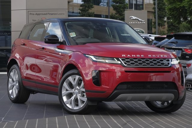 Demo Land Rover Range Rover Evoque L551 MY20.25 D180 SE, 2019 Land Rover Range Rover Evoque L551 MY20.25 D180 SE Firenze Red 9 Speed Sports Automatic Wagon