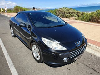 2006 Peugeot 307 T6 CC Dynamic Black Storm 4 Speed Sports Automatic Cabriolet.