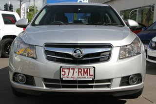 2010 Holden Cruze JG CDX Silver 6 Speed Sports Automatic Sedan.
